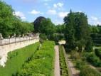 Promenande: Oberhalb des Ostgarten verläuft die Promenade