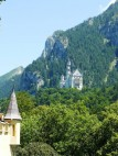 Neuschwanstein von Hohenschwangau aus